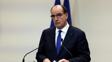 Jean Castex, lors de la conférence de presse du 14 janvier.