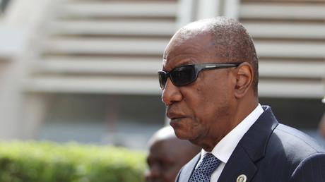 Le président guinéen Alpha Condé, en décembre 2018 (image d'illustration).