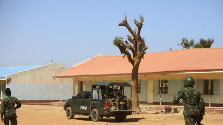 Des militaires nigérians en faction le 15 décembre à Kankara. (Image d'illustration)