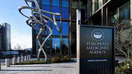 Les locaux de l'Agence européenne des médicaments, à Amsterdam, aux Pays-Bas, le 18 décembre 2020.