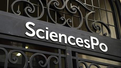 L'entrée de l'école Sciences Po à Paris en avril 2018 (image d'illustration)