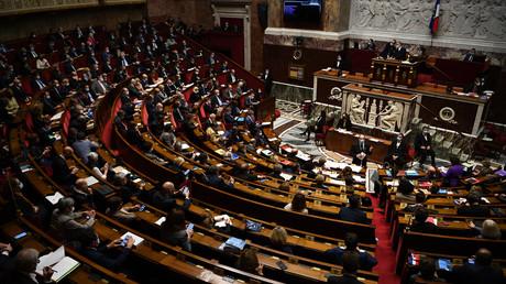 L'hémicycle de l'Assemblée nationale. (Image d'illustration)