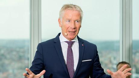 Le PDG de Belfius Marc Raisière le 9 août 2019 à Bruxelles (image d'illustration).