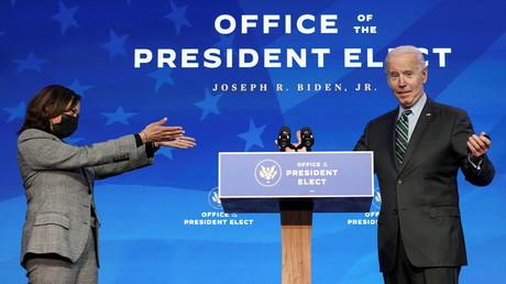 Joe Biden et Kamala Harris à Wilmington, dans le Delaware, le 16 janvier 2021 (image d'illustration)