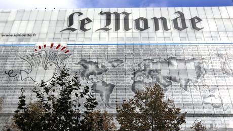 Les locaux du Monde à Paris (image d'illustration).