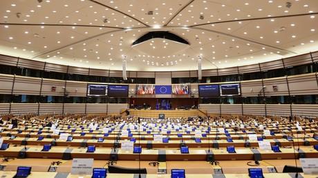 Le Parlement européen à Bruxelles, le 23 novembre 2020 (image d'illustration).