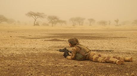 Soldat français au Mali en mars 2019 (image d'illustration).
