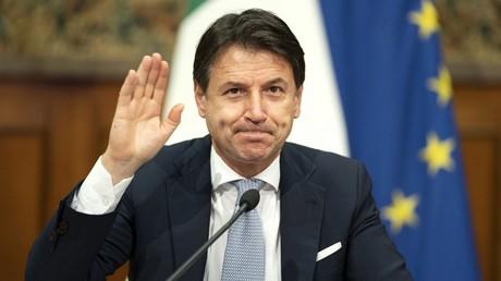 Giuseppe Conte, le 19 novembre 2020, à Rome (image d'illustration).