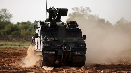 Un véhicule de l'opération Barkhane, le 27 juillet 2019, au Mali (image d'illustration).