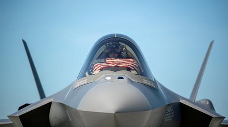 Un chasseur F-35 américain sur la base de South Burlington aux Etats-Unis (image d'illustration).