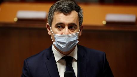 Le ministre français de l'Intérieur, Gérald Darmanin, à l'Assemblée nationale à Paris, le 26 janvier 2021.