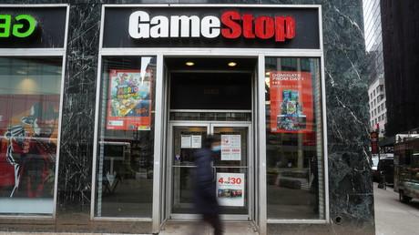 Un magasin GameStop, à New York, le 27 janvier 2021.