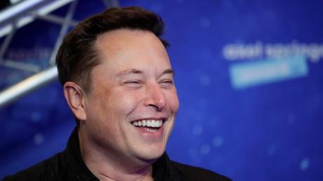 Elon Musk à Berlin, le 1er décembre 2020.
