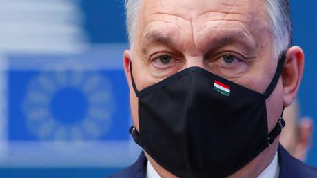 Le Premier ministre hongrois Viktor Orban lors d'un sommet de l'UE à Bruxelles, Belgique, le 10 décembre 2020.