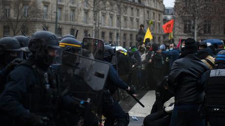 Des affrontements ont eu lieu le 30 janvier entre les forces de l'ordre et des manifestants.