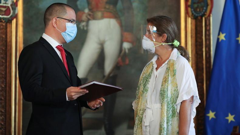 Le Venezuela donne 72 heures à l'ambassadrice de l'Union européenne pour quitter le pays