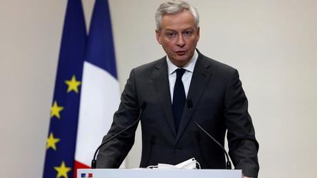 Bruno Le Maire le 14 janvier 2021 à Paris (image d'illustration).