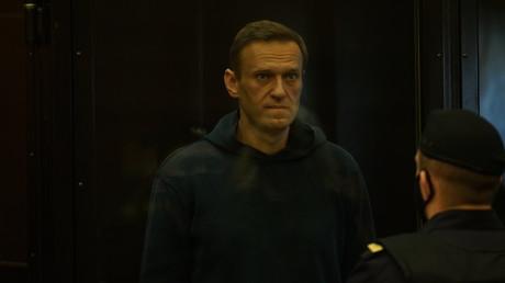 Alexeï Navalny comparaissait en personne à Moscou ce 2 février.