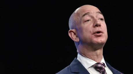 Le milliardaire et PDG d'Amazon, Jeff Bezos.