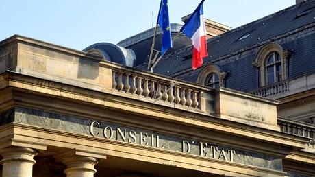 La façade du Conseil d'Etat à Paris.