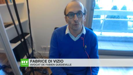 Fabrice Di Vizio, avocat du médecin généraliste Fabien Quedeville, s'est exprimé le 4 février sur RT France au sujet de la convocation de son client, le médecin Fabien Quedeville.
