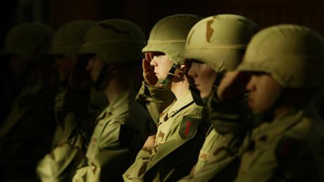 Des soldats américains de la 1ère division d'infanterie en Allemagne (image d'illustration).