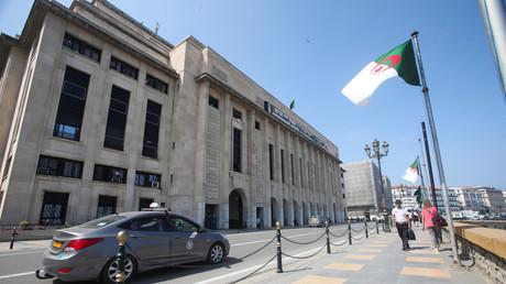 Bâtiment de la chambre basse du parlement à Alger, en Algérie, le 16 septembre 2020.