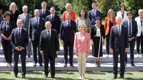 Le gouvernement Castex, le 29juillet 2020 à Paris (image d'illustration).
