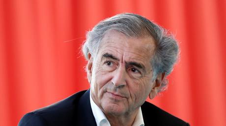 Bernard-Henri Lévy à Jouy-en-Josas, le 28août 2018 (image d'illustration).
