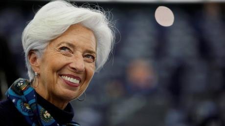La présidente de la BCE, Christine Lagarde, le 11février 2020 à Strasbourg (image d'illustration).