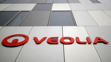 Le logo de Veolia à Nantes le 5 octobre 2020 (photo d'illustration).