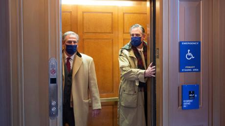 Bruce Castor (droite), l'un des avocats de Donald Trump.