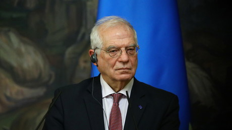 Le chef de la diplomatie de l'Union européenne (UE), Josep Borrell en visite à Moscou le 5 février (image d'illustration).