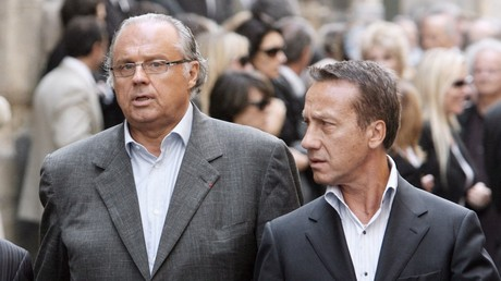Gérard Louvin et son mari, Daniel Moyne, le 4 juin 2007.