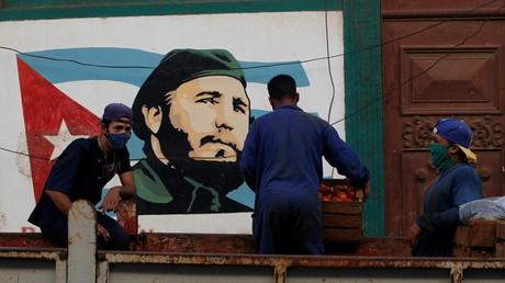 Portrait de Fidel Castro à La Havane le 20 janvier 2021 (image d'illustration).