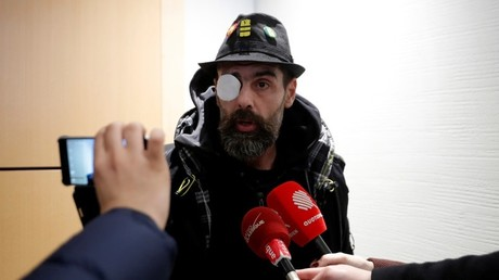 Jérôme Rodrigues, présent au procès de Christophe Dettinger le 13 février 2019 à Paris (image d'illustration).