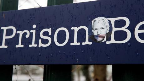 Prison de Belmarsh où Julian Assange est détenu, à Londres, Grande-Bretagne, le 6 janvier 2021.
