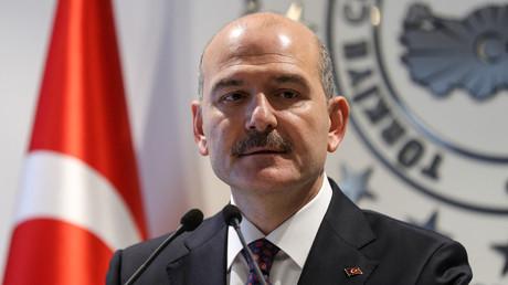 Le ministre turc de l'Intérieur Süleyman Soylu (image d'illustration).