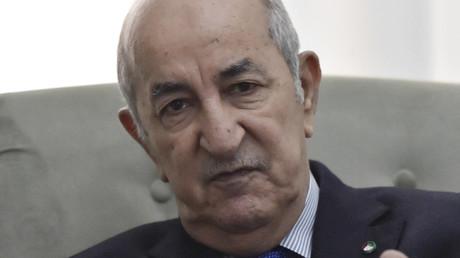 Le président algérien Abdelmadjid Tebboune