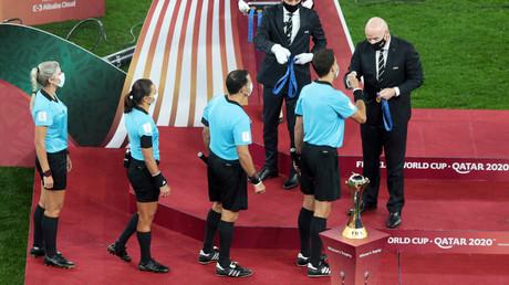 Cliché pris lors de la finale de la Coupe du monde des clubs, le 11 février 2021, au Qatar (image d'illustration).