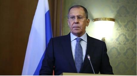 Sergueï Lavrov ce 15 février à Saint-Petersbourg.
