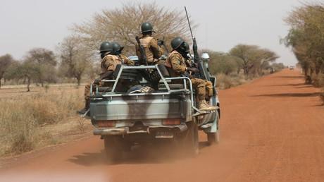 Cliché pris au Burkina Faso le 3 mars 2019 (image d'illustration).