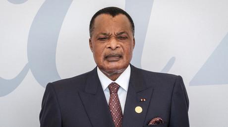 Le président du Congo-Brazzaville, Sassou Nguessoo