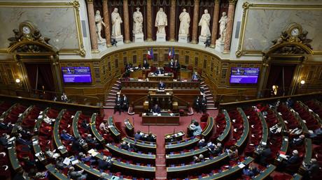Dans l'hémicycle du Sénat français, le 17 décembre 2020 (photo d'illustration).