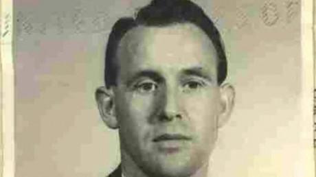 Friedrich Karl Berger, ex-gardien de camp de concentration durant l'Allemagne nazi.