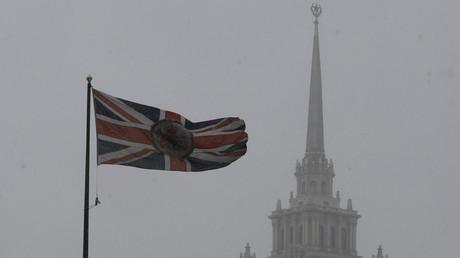 Le drapeau britannique flotte à Moscou, au-dessus de l'ambassade (image d'illustration).