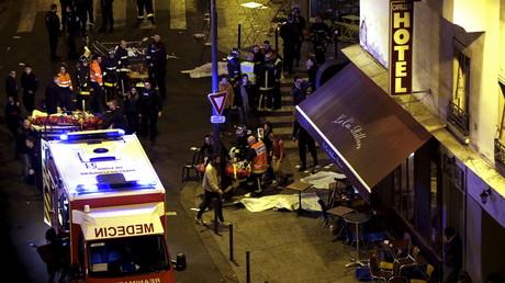 Cliché pris à Paris le 13 novembre 2015 (image d'illustration).