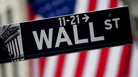 Un panneau indique le quartier de Wall Street à New York le 2 octobre 2020 (image d'illustration).