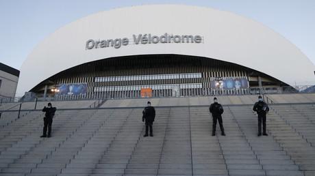 Le stade Vélodrome de Marseille avant le match OM-PSG, le 7 février 2021 (image d'illustration)