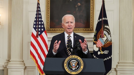 Joe Biden le 24 février 2021 (image d'illustration).
